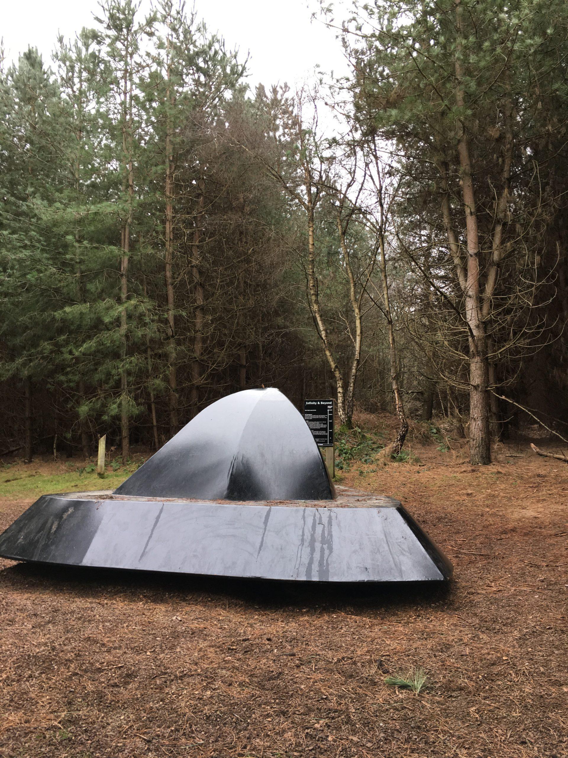 UFO Trail in Rendlesham