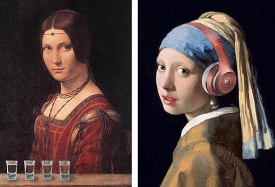 Jade Froud's Modern Renaissance series.
