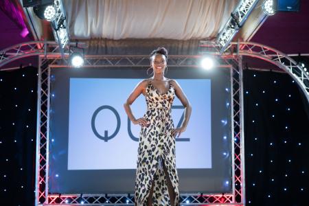 Leopard Print dress from Quiz