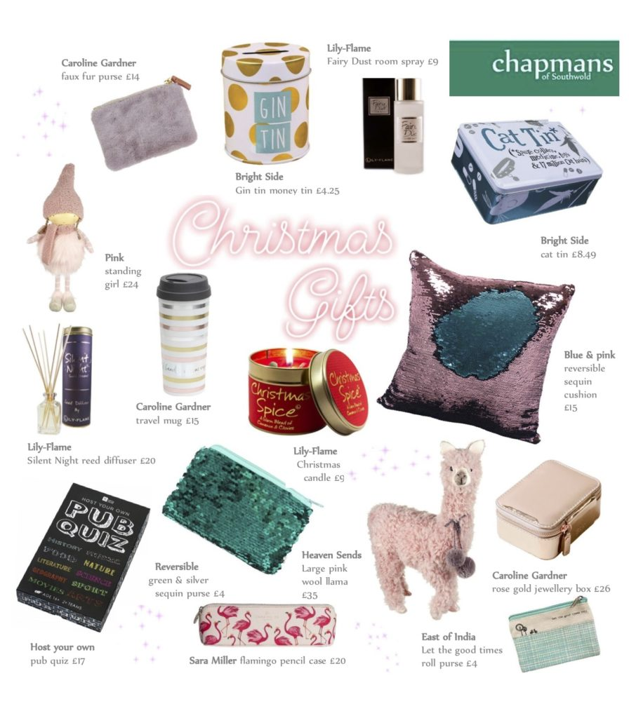 Christmas gifts from Chapmans of Southwold