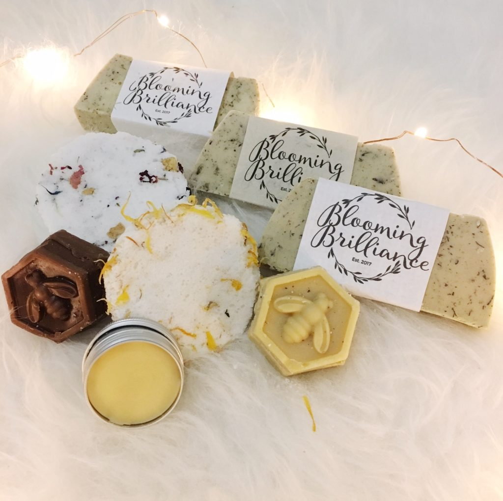 Soaps from Blooming Brilliance