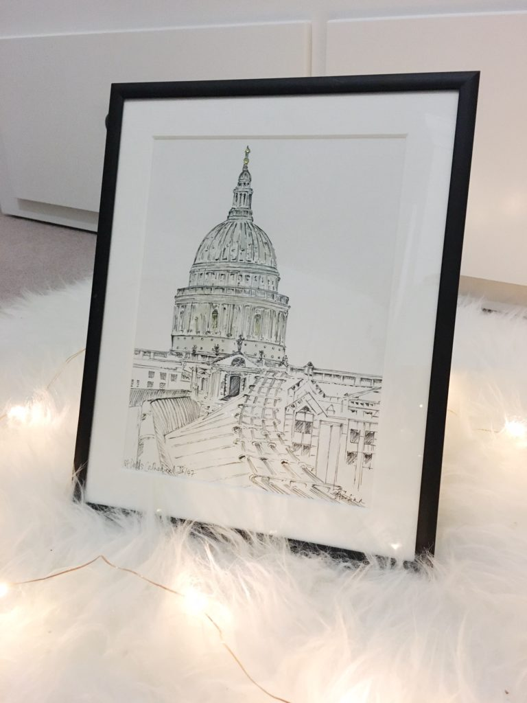 St Paul's Print by Torfinn Art