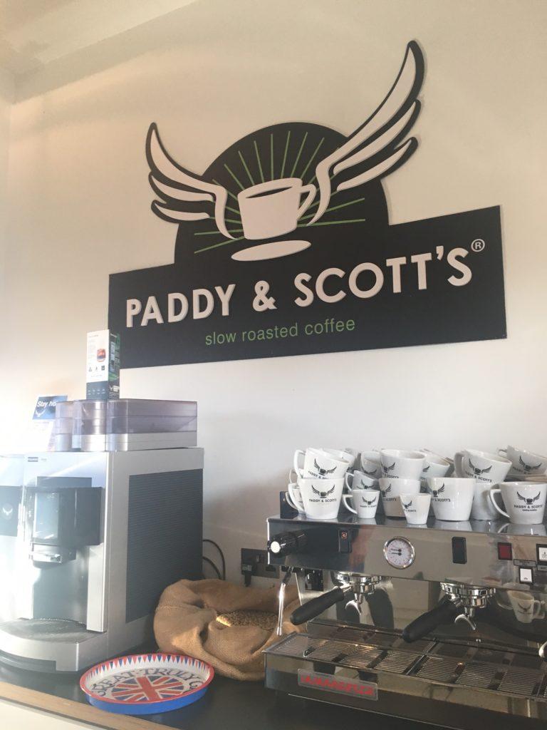 Coffee Machines at Paddy & Scott's
