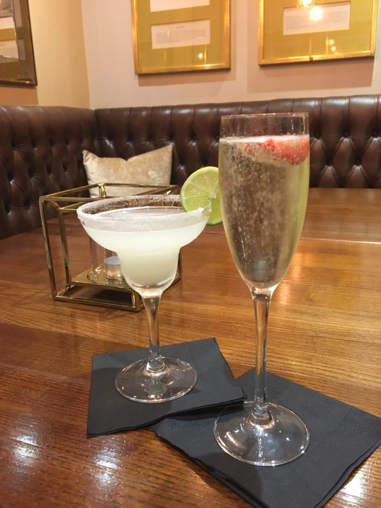 Drinks at Laura Ashley Hotel, The Belsfield