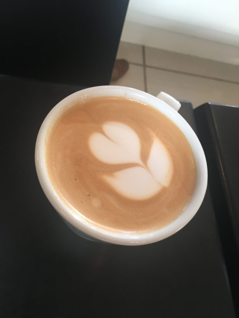 Latte Art done by the professionals at Paddy and Scotts