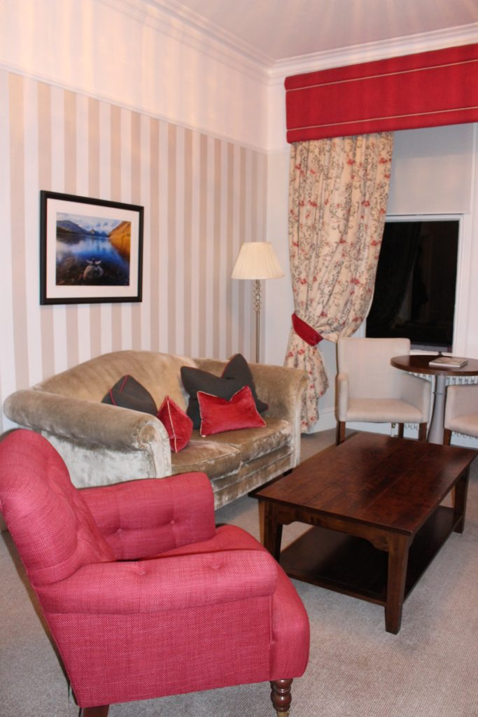 Our room at Laura Ashley Hotel, The Belsfield