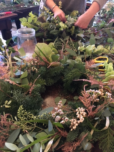 Wreath Making - Wreath Making at the Northgate