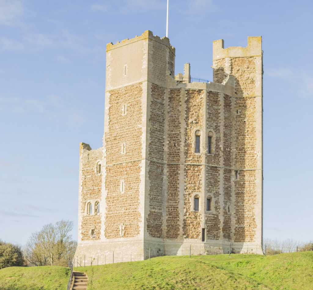 How to spend the day in Orford - Visiting Orford Castle