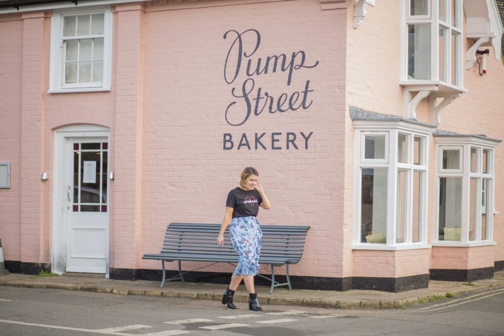 How to spend the day in Orford - Visiting the Pump Street Bakery in Orford