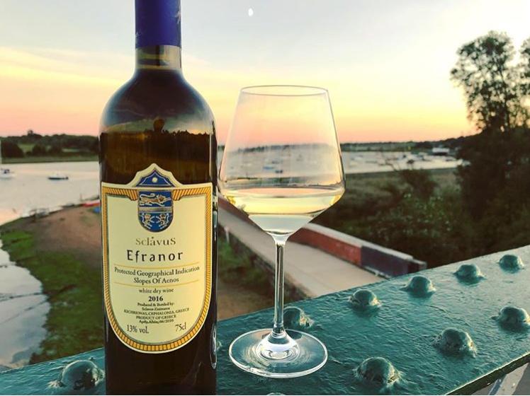 Bottle of wine from Man Like Wine