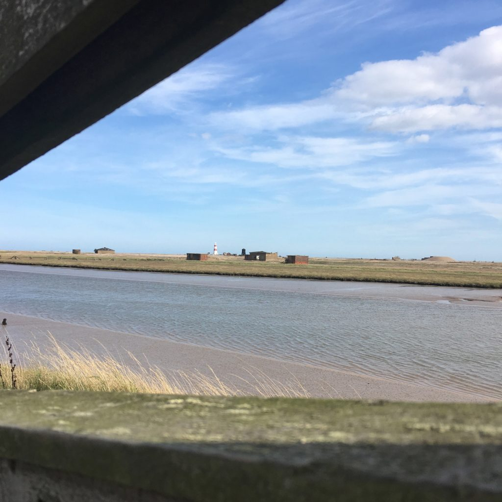 How to spend the day in Orford - landscape of Orford Ness
