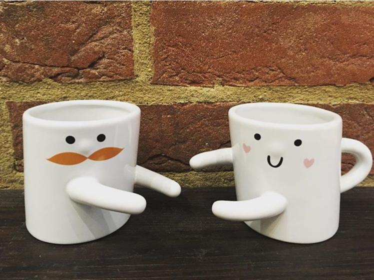 Hugging Mugs from Zest Charity Shop in Ipswich