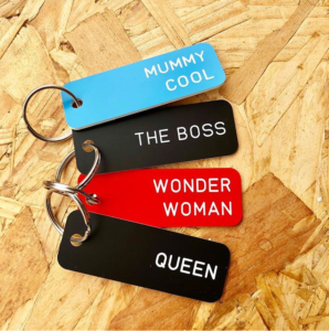 Mother's Day Gift Guide - key rings from Lift Store