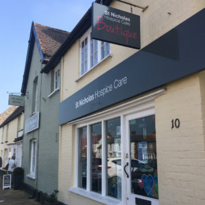 Shopping with Stone & Sage at St Nicholas Hospice Care Boutique