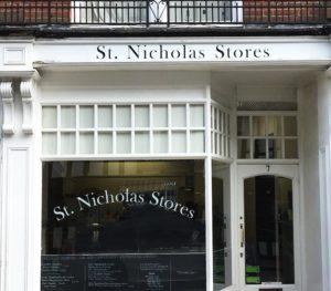 St Nicholas Stores in Ipswich