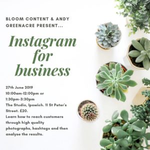Instagram Workshops
