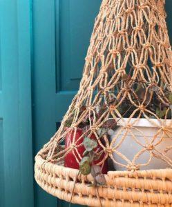 Vintage Hanging Basket, £8.95