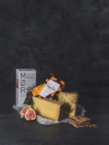Father's Day Cheese & Socks Gift Selection