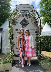Georgia and Abi at Feel Good Friday at Newmarket Racecourse