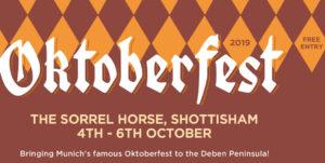 Oktoberfest at The Sorrel Horse