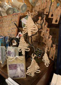 Macramé Christmas Tree Decoration Kit, £5, Laurel Cottage Craft