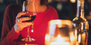 Candlelit dinner Valentine's date ideas in Suffolk
