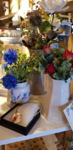 Salad Days Interiors faux flowers