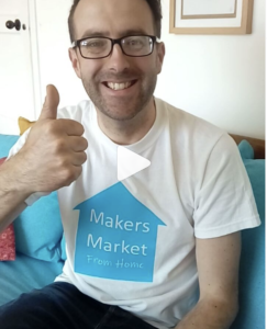 Andy from Makers Market from Home