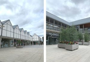 a day out in Bury St Edmunds - arc shopping centre