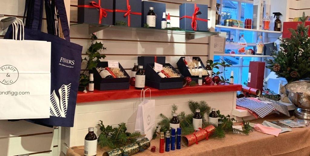 Purdy & Figg pop up shop in Aldeburgh