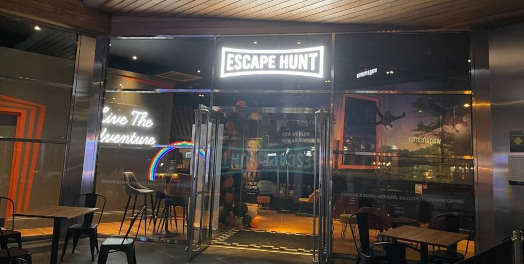 The front of the Escape Hunt store front in Norwich
