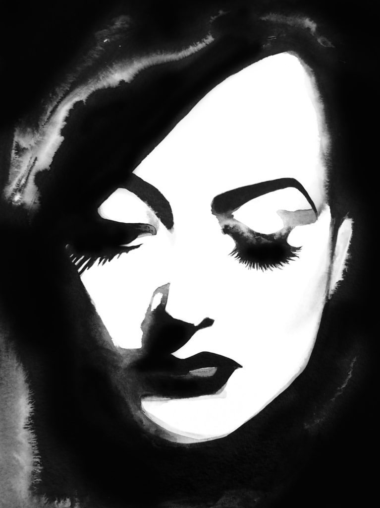 Joan Crawford by Kimberly Godfrey