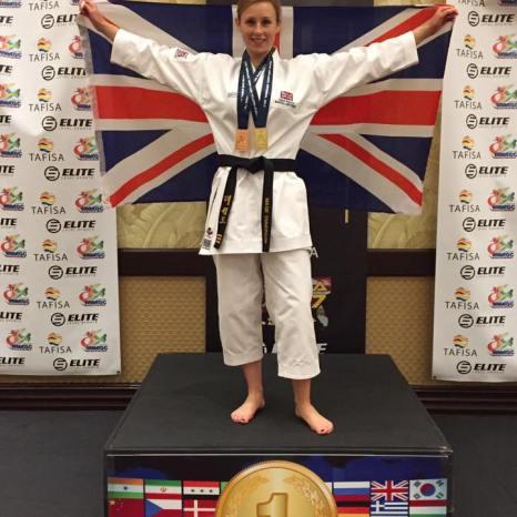 Maisie Emmerson gold medal