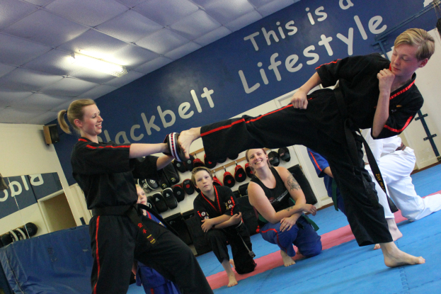 Maisie Emmerson's Black Belt Academy in action
