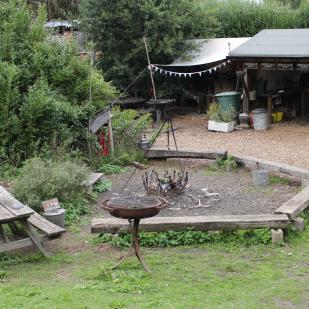Campsite at Alde Garden Campsite