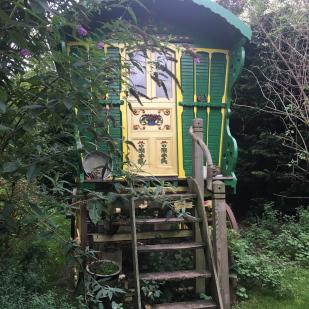 Gypsy Caravan at Alde Garden Campsite
