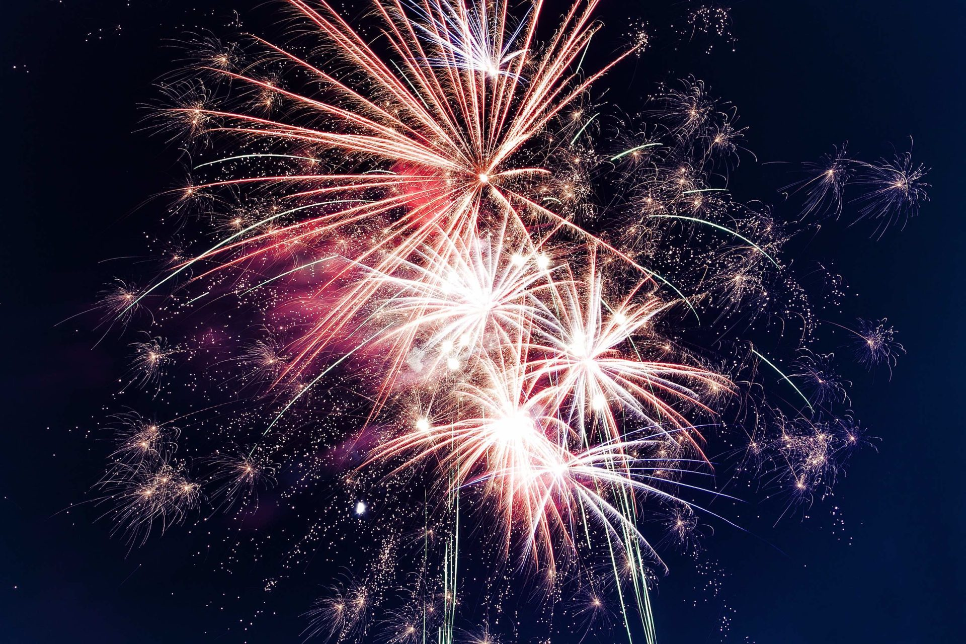 Where to watch fireworks in Suffolk 2018