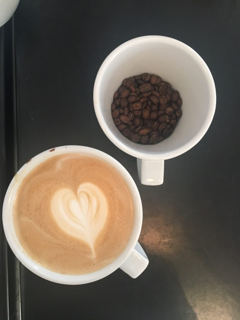 Latte Hearts at Paddy & Scott's