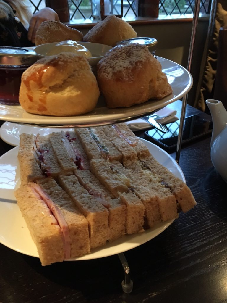 Seckford Hall afternoon tea