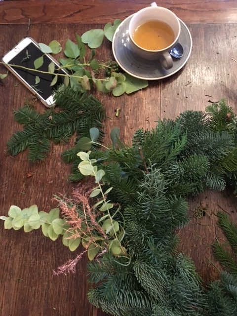 Wreath making process - Wreath Making at the Northgate