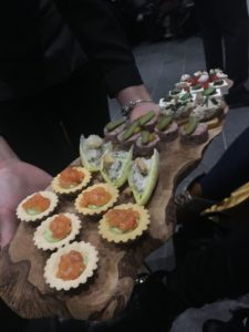 U Thyme Spa Launch Canapes