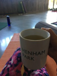 Yoga and Fitness Morning henham park mugs