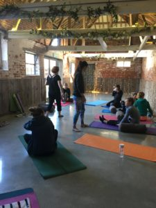 Yoga and Fitness Morning mindfulness class