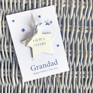 Personalised star token gifts - Fathers Day (Dad, Step-Dad, Daddy & Grandad), £7