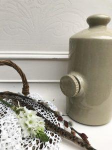Vintage Ceramic Hot Water Bottle, Regular price £18.95, Sale price £12.95