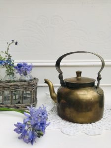 Brass Teapot, Regular price £12.00, Sale price £7.00