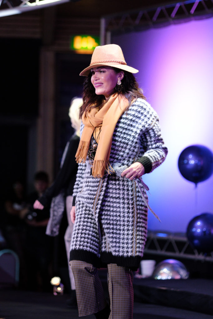 layering trend as seen on the Suffolk Fashion Show