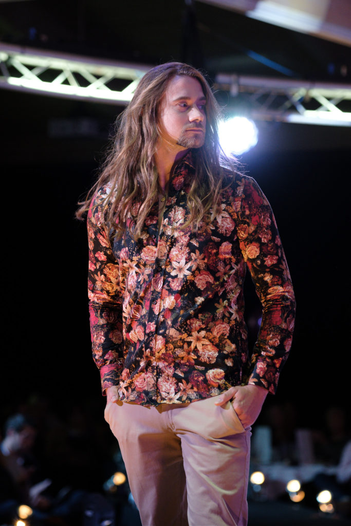 warm colours at the Suffolk Fashion Show 2019