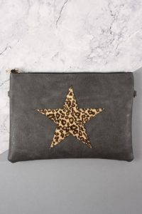 Star Motif Clutch Bag, £19.95