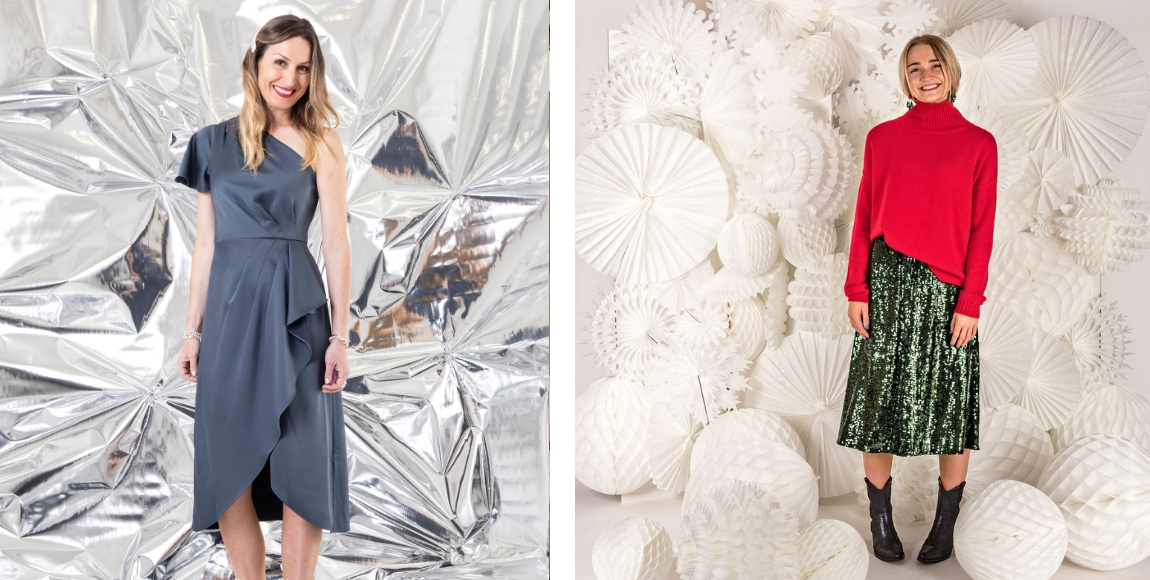 Christmas party outfits from Suffolk fashion boutiques
